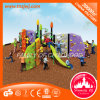 Playgrounds coloridos ao ar livre Kids Metal Playground Slides for Sale