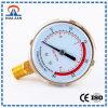 Venta en línea del calibrador de presión del acero inoxidable del precio bajo