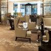Vária mobília usada luxuoso da entrada do hotel