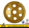 Roda de moedura profissional do copo do concreto PCD de Gushi