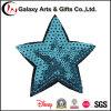 Bordado colorido patrón de estrellas decorativo lentejuelas apliques para la ropa