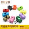 Produits d'animal familier/sac et distributeur colorés de dunette de perte de crabot