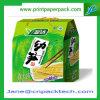 Rectángulo de papel de empaquetado del aguilón del cartón del producto de la aduana del alimento de la bebida de la cinta diaria de los tallarines