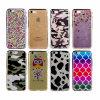 iPhone 7&7plusのための電気めっきの豊富なゆとりTPUの電話カバー