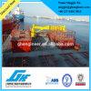 Grúa marina de la cubierta del transbordador del auge de la extensión de la nave hidráulica del vaso