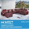 Corte Transversal moderno sofá de couro, Sofá por partes