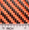 Tessuto colorato della fibra di Kevlar