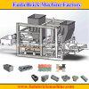 Cendres volantes, cendre, bloc concret, machine à paver automatique de brique faisant la machine