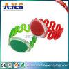 Cintas de pulso plásticas impermeáveis do bracelete/RFID/Wristbands de borracha