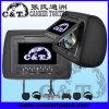 7  giocatore del poggiacapo dell'automobile DVD con lo schermo di monitor dell'affissione a cristalli liquidi di TFT, USB, deviazione standard, Fm, cuffia senza fili di IR, gioco a 32 bits (H701DA)