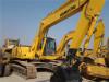 Excavador usado PC220-6 de la correa eslabonada de KOMATSU