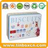 Олов печениь коробки хранения металла печений упаковки еды прямоугольные выбитые