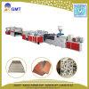 Plastik-WPC Belüftung-Fußboden-Kruste-Schaumgummi-Vorstand, der Maschine herstellend verdrängt