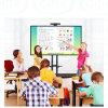 schede interattive di 4K UHD con le visualizzazioni di comitato di tocco per insegnare