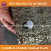 Placa bimetálica del desgaste para el cemento del molino