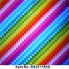 Pellicola unica & speciale della soluzione del Topcoat dell'acqua di trasferimento di stampa, pellicola idrografica, reticolo no. I592f1151b del Rainbow