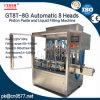 Automatische het Vullen van het Deeg van 8 Hoofden Machine voor Yougurt Gt8t-8g1000
