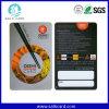 Impressão plástica do cartão do PVC