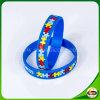 Браслет силикона логоса высокого качества изготовленный на заказ для подарка рождества