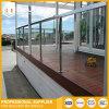 발코니/층계를 위한 스테인리스 포스트 난간 유리제 방책