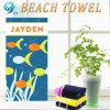 試供品の卸売によって印刷されるビーチタオル