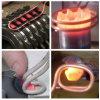 Macchina termica portatile di induzione 7-70kw per la brasatura della saldatura del riscaldamento del metallo