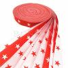Caballo impresa cinta de Grosgrain Cinta de poliéster Plata Rosa Estrella de la cinta de tejido personalizado