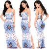 La robe à la mode estampe la grande jupe pour vendre la robe Chiffon
