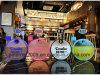 Модные раунда чайник Flate матового личности удобный бутылка воды