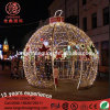 LED-Beleuchtung Gaint Kugel-Motiv-Licht für Weihnachtsim freiendekoration