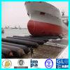 Bateau en caoutchouc de lancement de bateau de certificat de CCS mettant à terre le sac à air marin