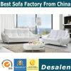 Um moderno design branco sofá de couro, preço de fábrica boa qualidade (621)