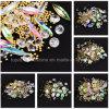 예술 훈장을 새로운 섞인 디자인 투명한 Strass 결정 모조 다이아몬드 및 강철 구슬 도착한다 보석 못 3D에 의하여 네일링하십시오