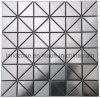 Стены из нержавеющей стали используется мозаика керамическая плитка