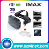 Fiit Vr 2n Plastic Version Virtual Reality 3D Glasses+ White Bluetooth Mouse Gamepad