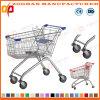 ヨーロッパの様式の高品質の卸売のスーパーマーケットの買物車のトロリー(ZHt229)