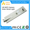 macchina fotografica del IP 40W/WiFi senza fili tutto in un indicatore luminoso di via solare del LED