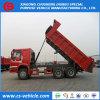 Autocarro con cassone ribaltabile delle rotelle 6X4 30tons di buona condizione HOWO 10 per l'Africa