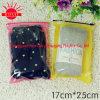 2016 Chaussettes en tissu imprimé sur mesure Ziplock Sacs résignables en plastique pour femme / chaussette pour homme