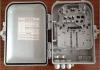 12 caixa de distribuição plástica PC+ABS da fibra óptica do núcleo FTTH