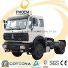 Op zwaar werk berekende Vrachtwagen Euro2 Beiben van Benz 4X2 270HP van het Noorden van de Verkoop van Afrika de Hete met de Kwaliteit van Benz