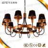 ¡Nuevo! Luces modernas de los colgantes del proyecto de las pistas de la venta de las lámparas de oro calientes del hotel 10