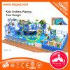 Le parc à thème de l'océan Terrain de jeux intérieur doux