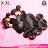 卸し売り安く自然な波自然なカラー自然で黒いバージンの毛モンゴルボディ波