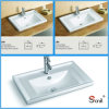 Раковина верхней части тщеты фарфора ванной комнаты резк сниженная цена 2 размеров (S5510)