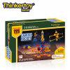 Thinkertoy Rocket Tierra Científico de Juguete Bloques de Construcción para la Educación Militar Serie Carrier