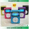 Heißer Selling Klipp MP3-Player, Portable Mini MP3 mit LCD Screen