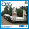 3 Axlesの容器Transport Flatbed Semi-Trailer