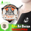 Design personalizado de alta qualidade Pino de lapela de metal / PVC