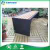 Banco de acero de madera y galvanizado clásico (FY-095X)